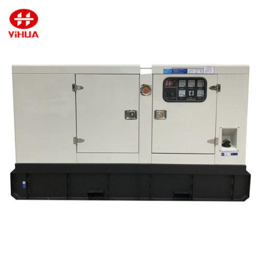 40kw/50kVA Silent Canopy Diesel Power Generator with Japan Engine 4tnv106-Gge