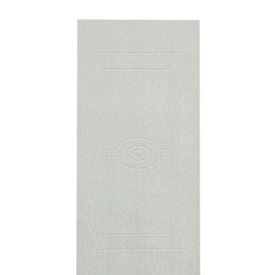 White Color Laminated Wooden WPC Door Wholesale