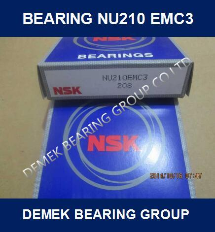 NSK Cylindrical Roller Bearing Nu210 Em/C3 pictures & photos