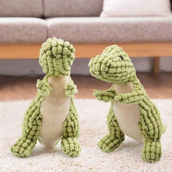 Durable Squeaky Dog Toy Plush Non-Toxic Puppy Bite Play Chew Pet Toys