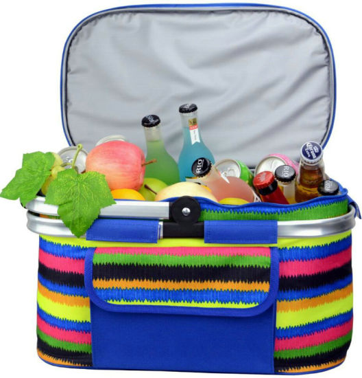 Handle Style 4 Persons Insulated Picnic Bag pictures & photos