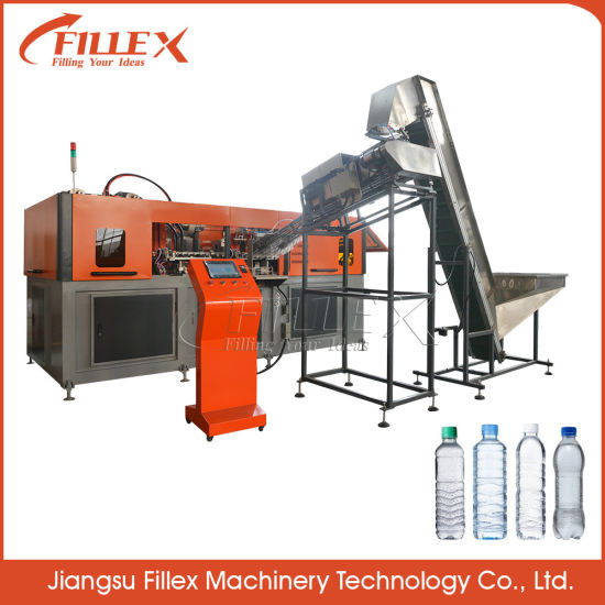 6-Cavity Automatic Pet Bottle Blowing Molding Machine with Good Service