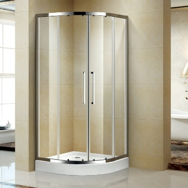 Quadrant Aluminum Corner Shower Enclosure/ Cabin/Cubicle (K-634) pictures & photos