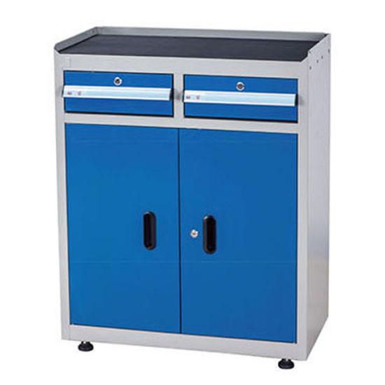 Kinbox New Heavy Duty Metal Cabinet Garage Tool Storage for Workshop
