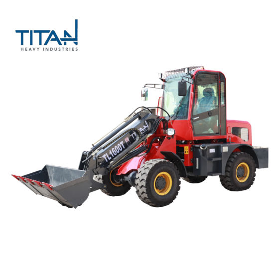 TL1600T 1.6 ton Titan telescopic loader with Good Quality
