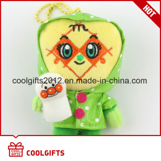 Wholesale Cartoon Soft Stuffed Plush Toy with Kechain
