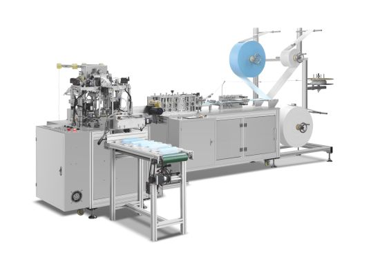 Automatic 3 Ply Non Woven Face Mask Making Machine