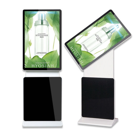 Indoor Advertising Player Rotation Floor Stand Display 43 Inch LCD Ad Player of LED Digital Signage