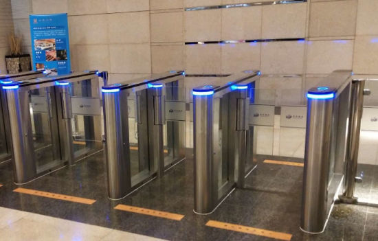Stainless Steel Fast Speed Turnstile Gate for Access Control System