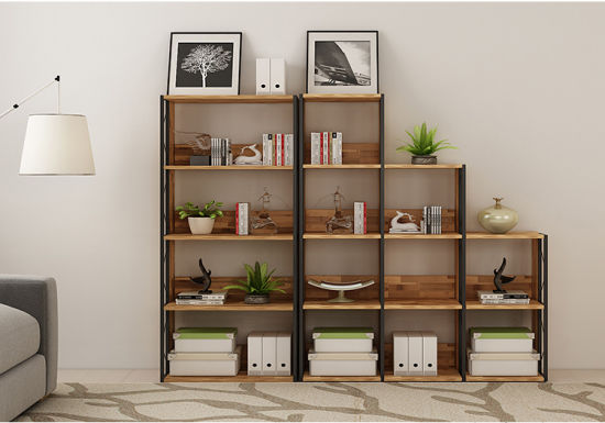 Home Office Fruniture Modern Book Shelf For Store Display Without Door