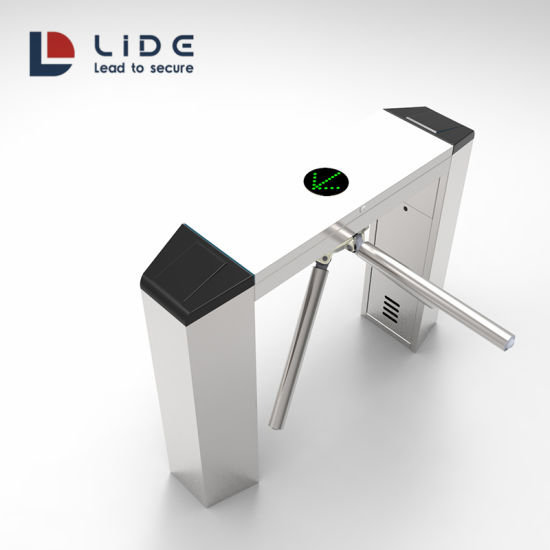 Smart Door Access Control System Automatic Mechanical Tripod Turnstile Barrier Gate