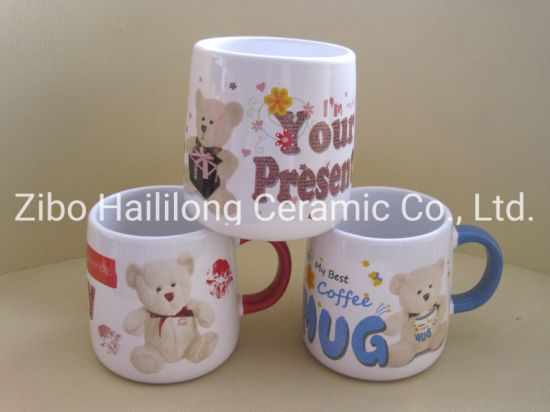 Ceramic Cups of Double Openting Mould with Logo