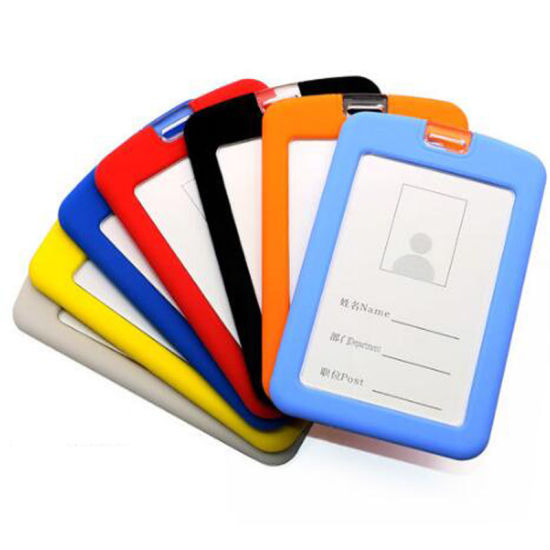 Silicone ID Card Holder Stand Credit Card Holder