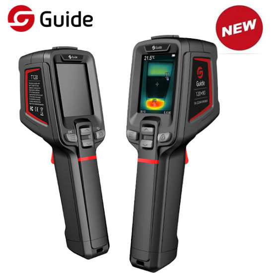 Guide T120 Portable Thermal Camera with 2-Meter Drop Durability for Your Toughest Jobs