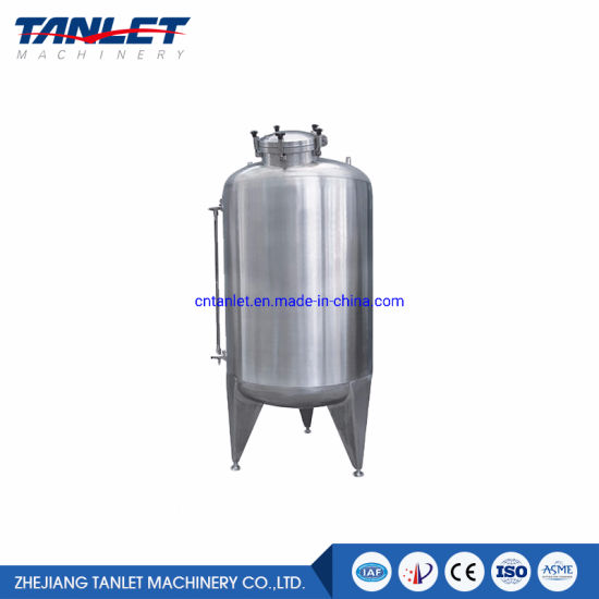 SS304 SS316 Stainless Steel Storage Tank Water Tank Liquid Tank