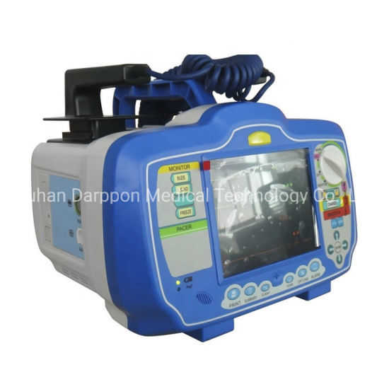 Medical Portable Capacitor Aed Automatic External Defibrillator Monitor pictures & photos