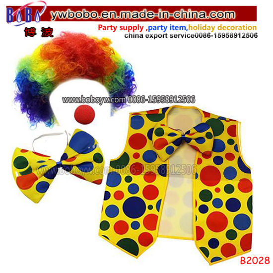 Holiday Decoration Clown Mask Halloween Costumes Birthday Party Favor Wholesale Party Items (B2028)