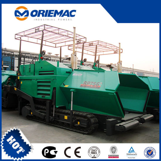 RP756 China Rubber Track Asphalt Concrete Paver Machine Price