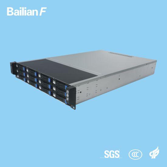 2u-12 Bays KTV Server High Cost-Effective with 3 Years Warranty 600W Gateway Server Data Server