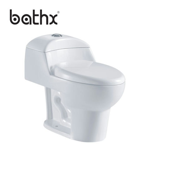 Hot Selling Modern Design Bathroom Ceramic One Piece Sanitary Ware Toilet (PL-5729)