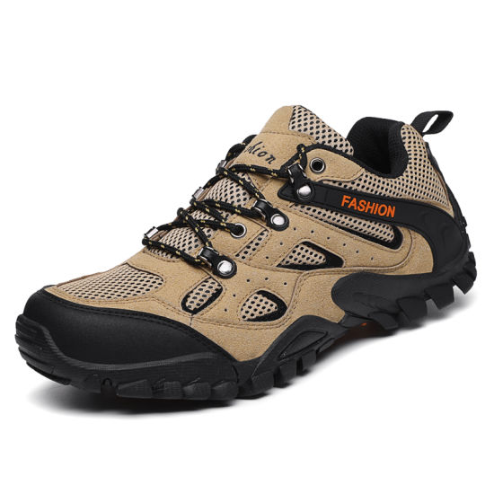 2019 Innovative Product Men Summer Outdoor Sport Custom Hiking Shoes pictures & photos