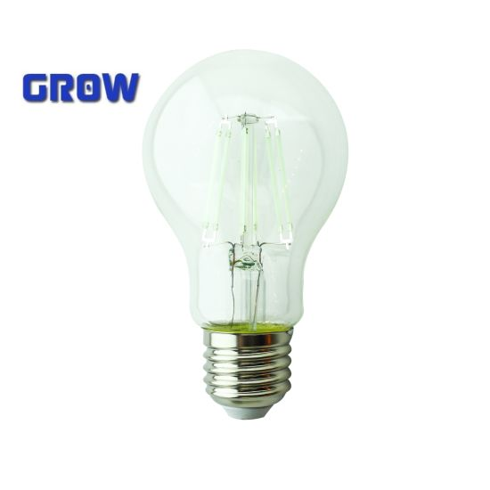 New Spiral Dimmable A60 LED Filament Bulb Lamp Light