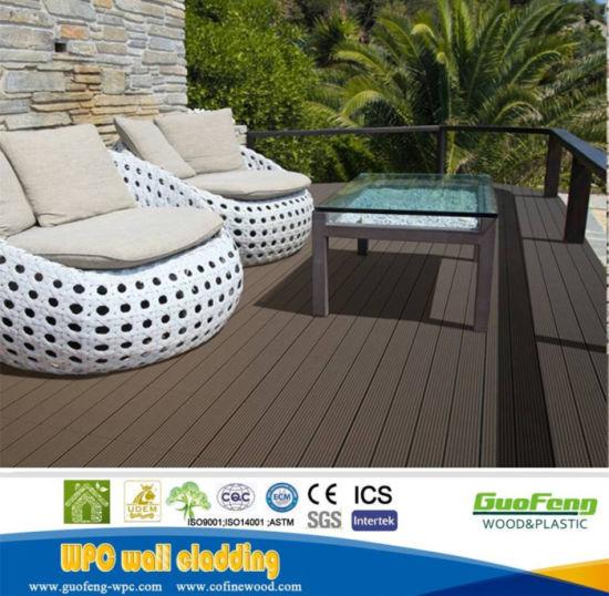 Plastic Wood Garden Decking Wpc