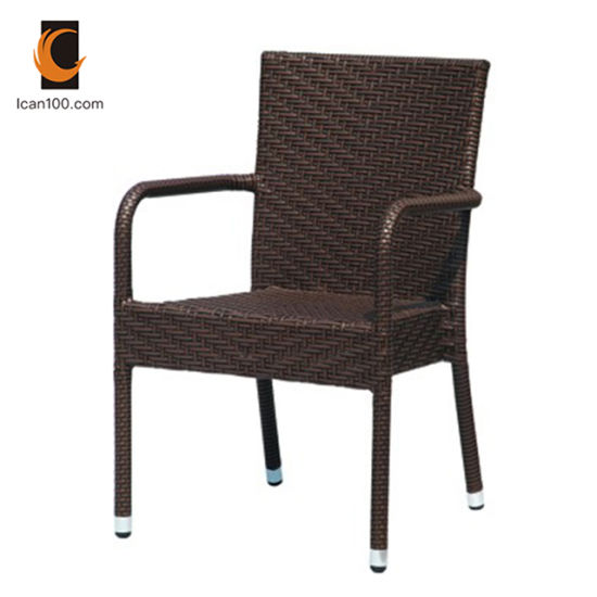 UV Resistant Wholesale Outdoor Garden Patio Leisure Wedding Plastic Cane Wicker Chair