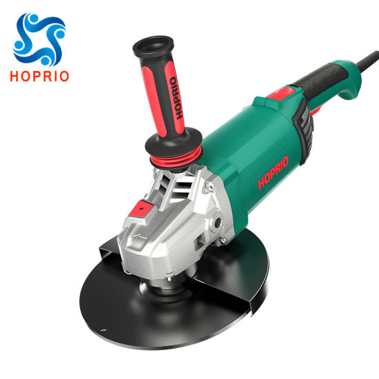 High Efficiency 220V Portable Grinding Cutting Tools Brushless Angle Grinder