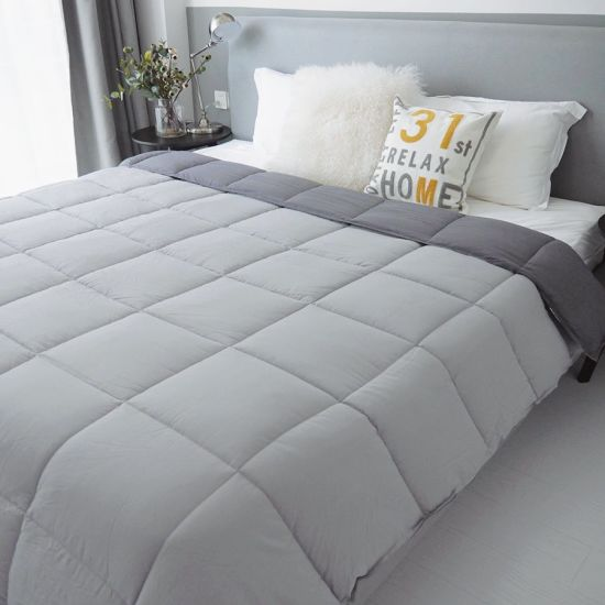 Luxury Home Hotel Microfiber Polyester Comforters Quilts