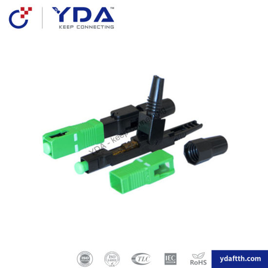FTTH Sc-B Sc APC Mechanical Connector Field Assembly Fiber Optic Fast Connector