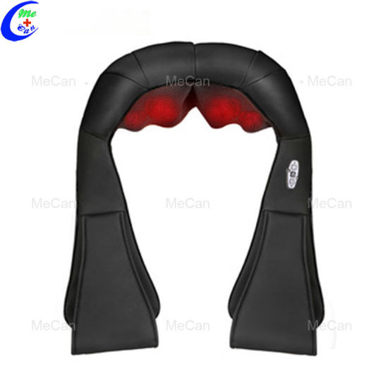 Neck and Shoulder Massager with Hot 3D Shiatsu Back Electric Small Massager pictures & photos