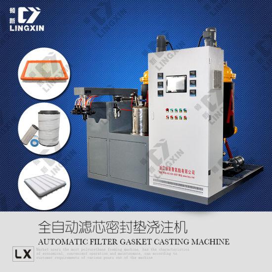 Polyurethane PU Truck Filter Making Machine /Car Filter Making Machine /Air Filter Making Machine /Polyurethane PU Gasket Foaming Machine