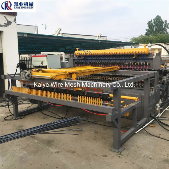 Automatic Construction Steel Rebar Wire Mesh Welding Machine
