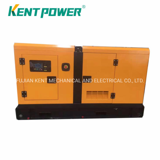 80kVA Cummins Engine (6BT5.9G2) Silent Diesel Power Generator Electirc Genset