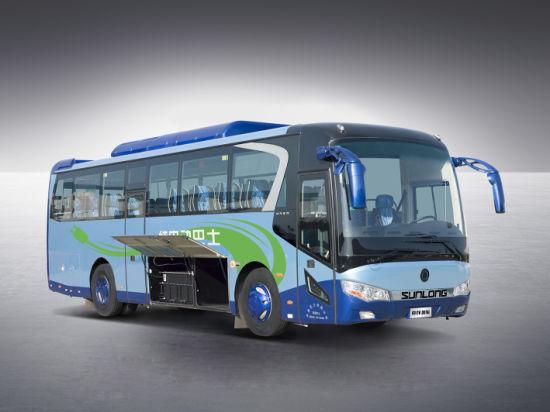 Slk6108 10m Luxury Coach Bus for Sale