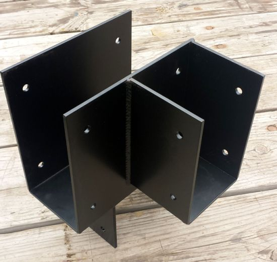 Deep Drawn Stamping Sheet Metal Shelf Fabrication Brackets pictures & photos