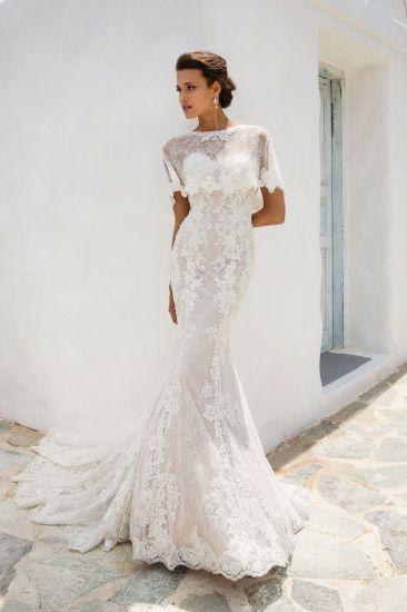 China Amelie Rocky 2018 with Bolero Mermaid Lace Wedding Dresses ...