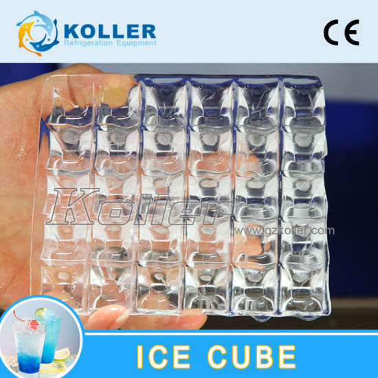 CE Approved 3 Tons Ice Cube Machine with Semi-Automatic Packing System (CV3000) pictures & photos