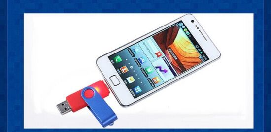OTG USB Flash Drive USB 2.0 Pen Drive for Android Molbile & USB Computer 8GB 16GB 32GB 64GB 128GB Factory Wholesale Competive Price pictures & photos