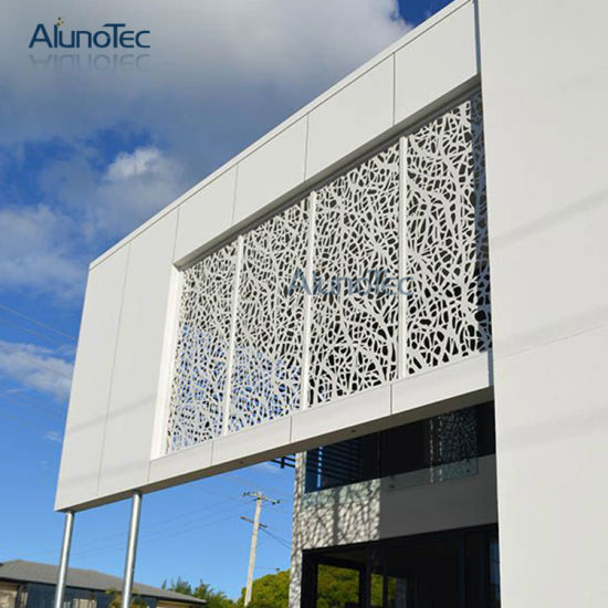 China External Wall Cladding Panels Decorative Metal Screen Wall ...