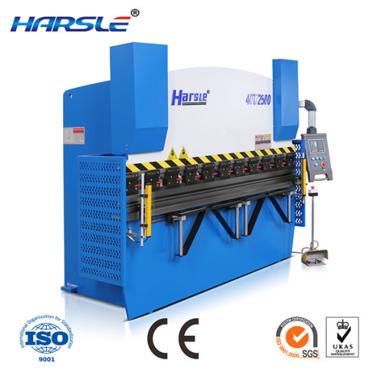 Hydraulic Press Brake Metal Bending Machine E21system Contorller pictures & photos