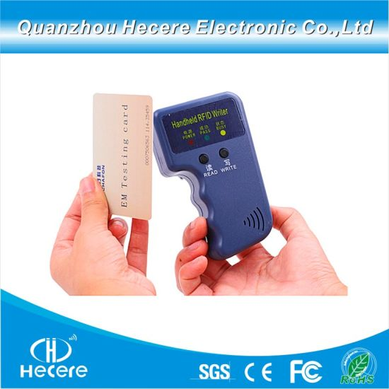 Handheld 125kHz RFID Smart ID Card Reader & Writer & Copier