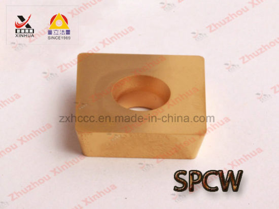 Spcw Cemented Carbide Milling Inserts pictures & photos
