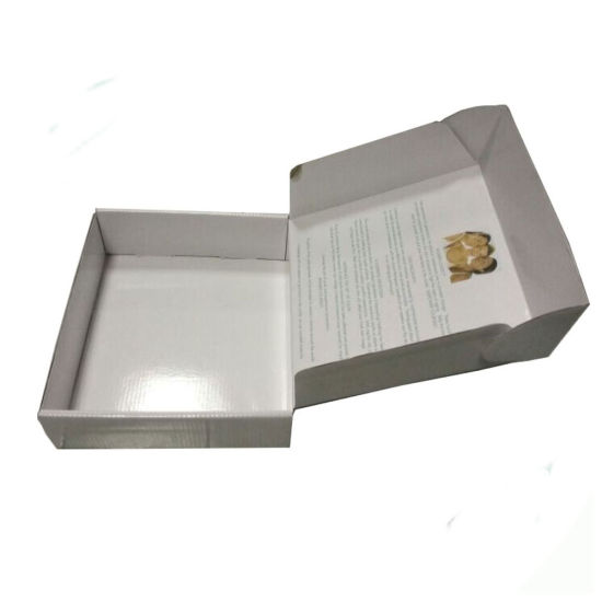 Recyclable Custom Order Hardboard Inside Printing Pack Use Paper Boxes with Simple Logo