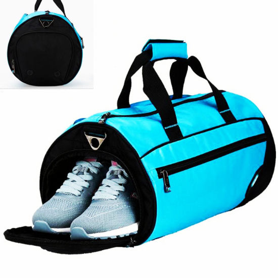 Dry & Wet Separation Sports Bag for Travelling and Swimming Training Shoulder Bag pictures & photos