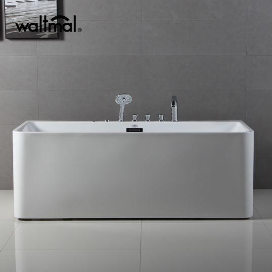 china kohler oem waltmal freestanding bathtub with massage jet
