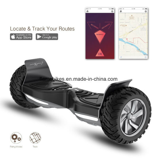 800W Fashionable Electric Standing-up Scooter with RC, Bluetooth. pictures & photos
