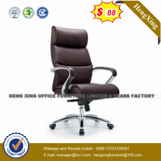 Stock Synthetic Luxury Executive Chair Leather Boss Chair (NS 005A)