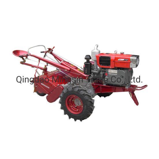Df18 Walking Tractor, 18HP Diesel Tractor, Power Tiller, Two Wheel Tractor, Model Mx-181